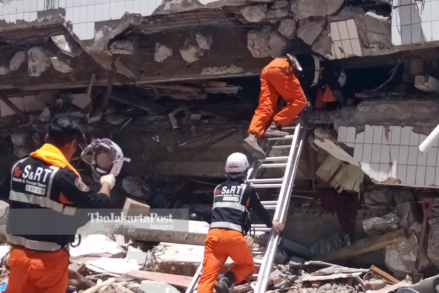 Palu Search and rescue - korea help