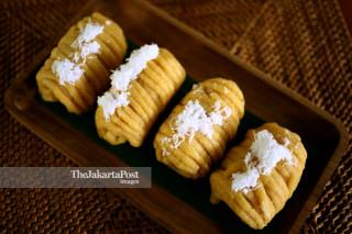 Traditional food Getuk