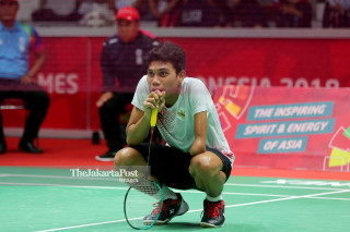 Para badminton putra Final Asian Para Games 2018_Indonesia