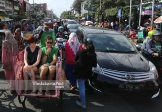 Wisatawan di Yogyakarta