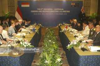 Pertemuan 6th Foreign and Defence Ministers