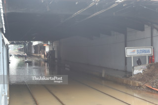Penutupan Stasiun Sudirman