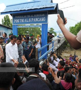 File: Kunjungan Presiden Ke Perbatasan RI
