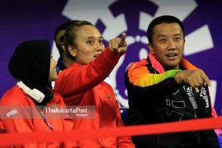 -Voli duduk putra Indonesia vs Myanmar