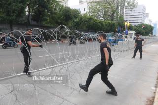 Antisipasi Aksi di Kedubes Perancis