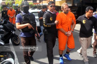 Russians arrested in Bali