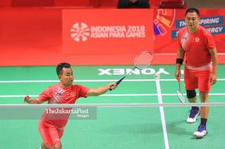 Badminton Ganda Pria Asian Paragames 2018