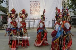Hiburan Asian Para Games 2018