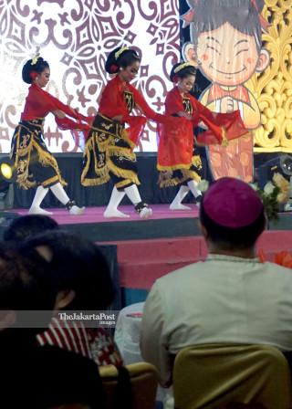 Imlek di Universitas MaChung Malang Jawa Timur