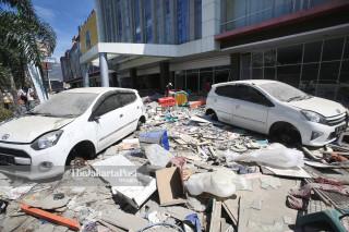 penjarahan pusat perbelanjaan Palu Grand Mall, Sulawesi Tengah