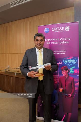 Quisine dari Qatar Airways