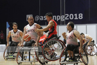 BASKET ASIAN PARA GAMES 2018 - Putra Indonesia vs Iran