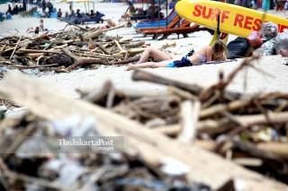 Waste problem in Bali