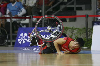 BASKET ASIAN PARA GAMES 2018 - Putra - Indonesia