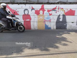 Toleransi dan Kebersamaan melalui mural