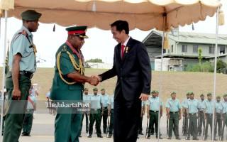 File: Presiden Joko Widodo di Papua Nugini