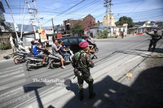 Keamanan di kota Palu, Sulawesi Tengah