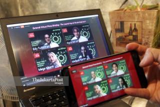 Virtual Launch Akuberbagi.com