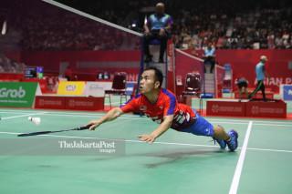-Semifinal Tunggal Putra Bulutangkis Malaysia vs India