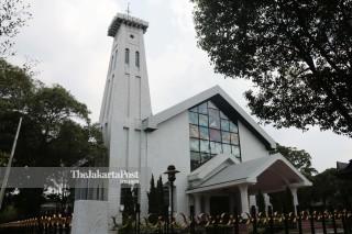 Gereja Protestan Haleluya di Taman Mini Indonesia Indah (TMII) Jakarta