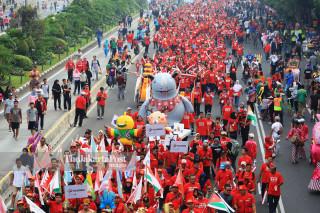 Asian Games parade