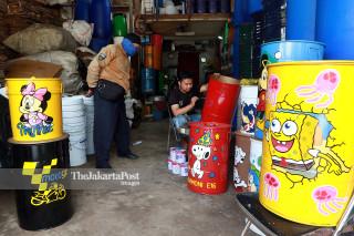 Kreasi Tong Sampah