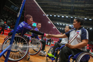 Badminton Ganda Campuran Asian Paragames 2018