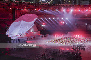-Upacara Pembukaan Asian Para Games 2018