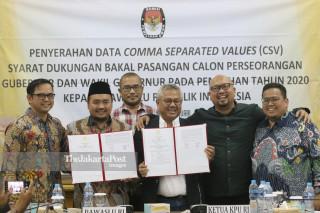 Data Syarat Perseorangan Pemilihan Gubernur dan Wakil Gubernur