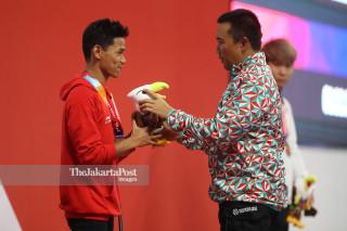 PARA SWIMMING - Putra 100m - Gaya Punggung - Indonesia - Imam Nahrawi