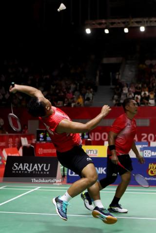 - Bulutangkis Ganda Putra Asian Para Games 2018