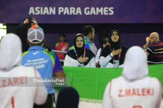 - Volley Duduk Putri Asian Para Games 2018