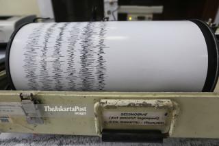 Krakatoa Seismograf