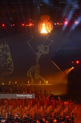 Obor Pembukaan Asian Paragames 2018