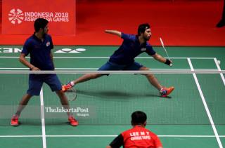 -Beregu putra Asian Para Games 2018 India vs Chinese Taipei