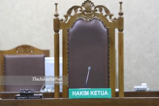 Judge in Court Room