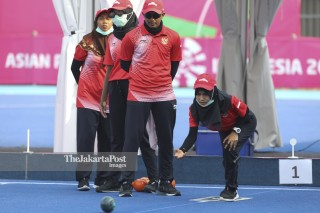 Lawn Bowl Asia Para Games 2018_Indonesia