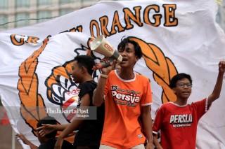 Jakarta turning orange