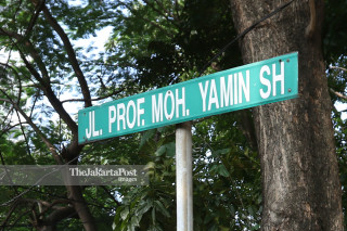 Akses Jalan Moh Yamin