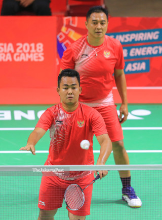 Badminton Ganda Putra Asian Paragames 2018