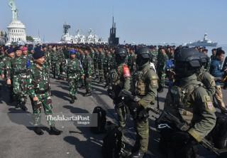 Latihan Armada Jaya TNI AL 2019