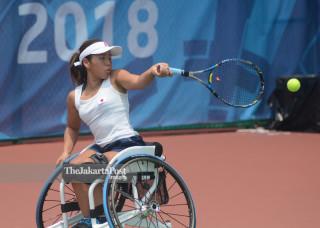Women Tennis Wheelchair Asian Para Games 2018