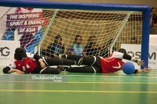 Goal Ball Asian Para Games 2018 - Putri - Indonesia vs Laos