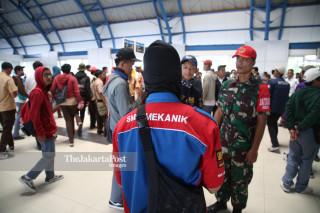 Aksi Susulan Gabungan STM Jakarta