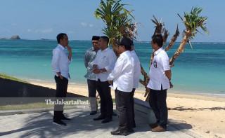 Jokowi in Mandalika