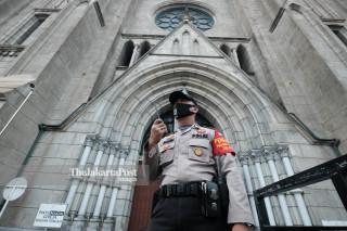 Misa Perdana Gereja Katolik Katedral Jakarta