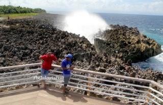 Wisatawan di Nusa Dua