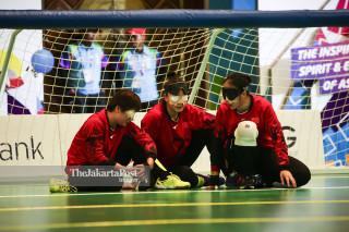 asian paragames 2018 goal-ball china preliminary
