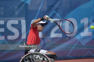 ASIAN PARA GAMES 2018 TENNIS KURSI RODA