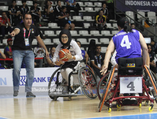 BASKET ASIAN PARA GAMES 2018 - Putri - Afganistan vs Thailand